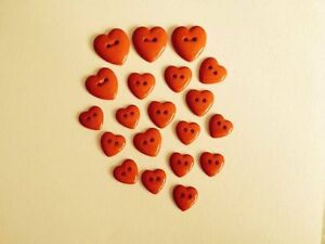 VALENTINE RED LOVE HEARTS ROMANCE SEWING KNITTING CAKE DECORATIONS CRAFTS BG