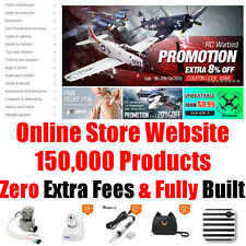 Online Store Website - 150,000 Products - Fully Built - Home Adult Business
