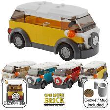 Lego Camper Camioneta-VW Estilo holiday camper-Amarillo (otros colores disponibles)