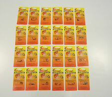 24 PACKS OF CIGARETTE STINK BOMB LOADS SMOKING GAG GIFT PRANK JOKE (6 PER PACK)