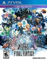 World of Final Fantasy (Sony PlayStation Vita, 2016) Ps Vita New Day One Edition