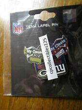 Green Bay Packers AT VS New York Giants Game Day Pin December 1, 2019 Cleats