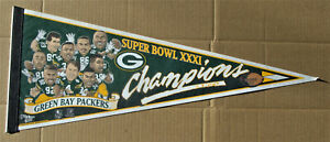"""GREEN BAY PACKERS  SUPER BOWL XXXI  30"""" Pennant"""