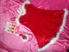 ANN SUMMERS SEXY SANTA  fancy dress OUTFIT  size 8 NWT