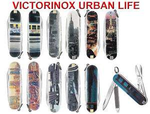 VICTORINOX - Schweizer Messer Serie Sammleredition Urban Life 7 Funktionen -