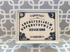 Magenta Halloween Spirits Square Cheese Square Plate. New!!