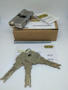 EVVA 3KS plus Doppelzylinder 3 Schlüssel 31/31zusätzlicherBohr & Ziehschutz