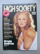 HIGH SOCIETY (D)  2 - 1984  URSULA ANDRESS + COVER