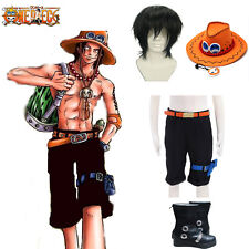 Hot One Piece Cosplay Portgas D Ace Costume Shorts Pants Cos Accessories