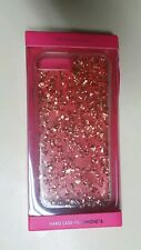 Victoria Secret VS Phone Hard Case Cover for iPHONE 6 Gold Sparkle