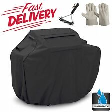 """Bbq Gas Grill Cover Small 52"""" Barbeque Heavy Duty Waterproof Outdoor Weber Black"""