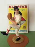1988 Starting lineup Roger Clemens figure Toy W/ 1988 Topps Card Boston Red Sox