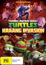 Teenage Mutant Ninja Turtles: Kraang Invasion * NEW DVD * (Region 4 Australia)
