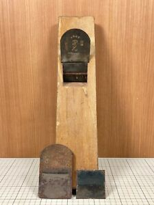 Japanese Vintage Carpenter Tool Kanna Hand Plane made by the famous blacksmith