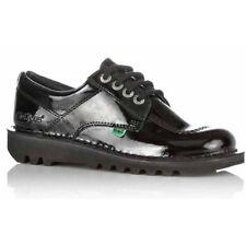 Kickers Kick Lo Y Core Patent Leather Black (Z106) 1-13499 Youths Shoes