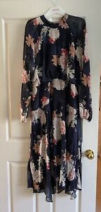 Portmans Floral midi Dress  Great Condition. Size 16