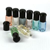 Essential Oils glass bottles Roll on Bottles perfume Roller Ball  3ml Container