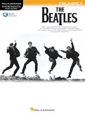 The Beatles Hit Songs Tunes Instrumental Play-Along Learn to Trumpet MUSIC BOOK