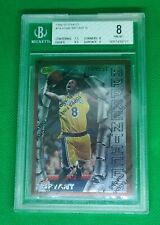 1996-97 Finest Kobe Bryant Rookie RC BGS 8 Lakers