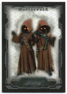 2016 Star Wars Masterwork 18 Jawas