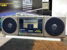TOSHIBA RT-CS1 STEREO RADIO CASSETTE PLAYER. Vintage NEW IN BOX