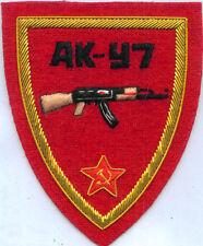 Soviet Russian AK 47 Kalashnikov MM  Shell Assault Rifle Gun Army Battle Patch K
