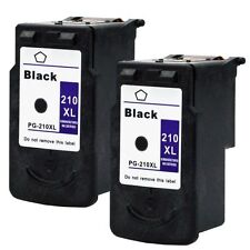 2PK PG-210XL Black Ink For Canon Pixma MP240 MP250 MX340
