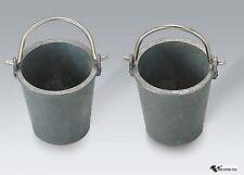 TORRO 2 Stück Metall Eimer 1:16 1229909614
