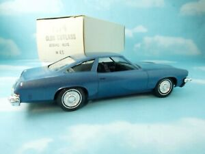 1974 Oldsmobile Cutlass in original factory Zodiac Blue with original box
