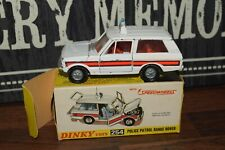 Vintage Dinky 254 Police Range Rover boxed