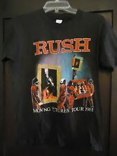 "Original 1981 RUSH ""Moving pictures"" concert/tour t shirt."