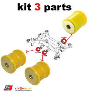 BMW M3 E90/E92/E93 rear differential mounting bush kit 33312283384, 33312284019