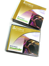 4-CD Set COBRA GPS SOLUTIONS--RAND MCNALLY STREETFINDER DELUXE Windows 2000, XP