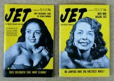 Lot Of Jet Magazine (1953 & 1954) - Why Husbands Look At Other Women