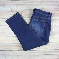 CHICO'S Women's The Platinum Crop Jeans SIZE 0