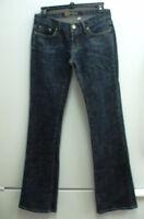 Bebe BB Flair Legs Jeans  Sz 28 USA Made BEBE Gold Back Logo        031