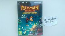 Rayman Origins (Collector's Edition) for Sony PS3 *FACTORY SEALED* UK PAL RARE