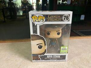Funko POP! Figure Game of Thrones 2019 Spring Convention ARYA STARK #76