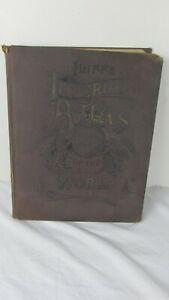 Antique Iliff's Imperial Atlas Of The World 1892