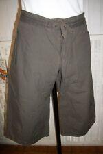 Pantalon court pantacourt short ROXY QUIKSILVER T.M W30 40 42FR coton marron P22