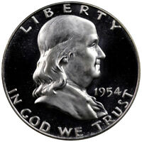 1954 Franklin Half Dollar Choice Proof