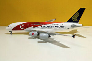 "Hogan Wings 0915, Airbus A380, Singapore Airlines, ""SG50"", Reg No.9V-SKI, 1:200"