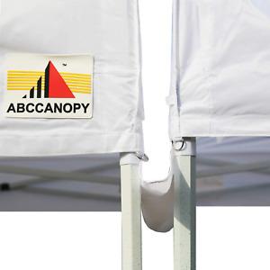 ABCCANOPY Canopy Accessories 10 Foot Canopy Rain Gutter/Light Gutter for 10' ...