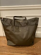 NEW INDIA HICKS Ambassador Bag Large Tote Water Resistant Army Travel Vegan RARE