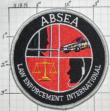 ABSEA LAW ENFORCEMENT INTERNATIONAL PATCH