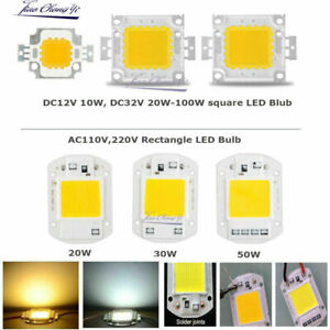10W 20W 30W 50W 100W LED SMD Chip Bulb Bead High Power for Flood Light Lamp