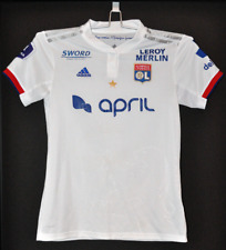 maillot porte porté PARRIS LYON OL FEMININES match worn shirt