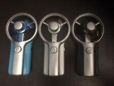Adjustable USB FAN Portable Folding Fans BATTERY POWERED Pocket Camping NEW