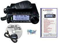 Yaesu FT-891 HF/6M Transceiver with Prog. Kit & Nifty! Accessories Mini-Manual