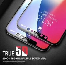 5D Full Cover Gorilla Black Screen Protector Tempered Glass For iPhone X  NEW